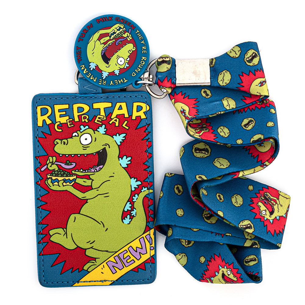 Nickelodeon Rugrats Reptar Cereal Lanyard with Cardholder-zoom