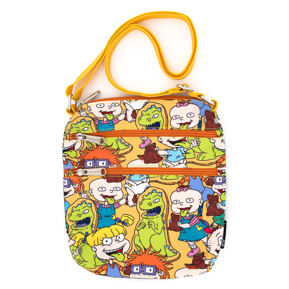 Nickelodeon Rugrats AOP Nylon Passport Bag-zoom