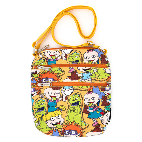 Loungefly X Nickelodeon Rugrats AOP Nylon Passport Bag