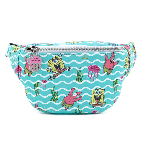 Nickelodeon SpongeBob Jelly Fishing Fanny Pack