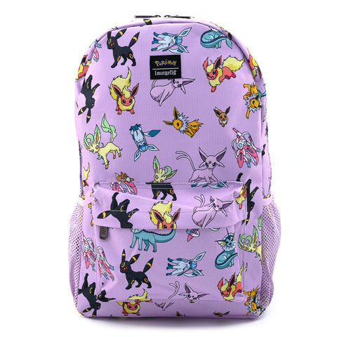 Loungelfy X Pokemon Eevee Evolutions Nylon Backpack