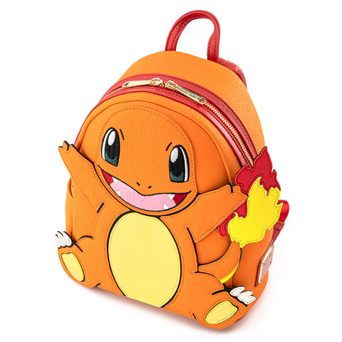 Loungefly X Pokémon Charmander Cosplay Mini Backpack.