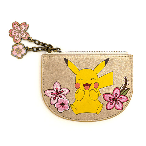 Loungefly X Pokemon Pikachu and Eevee Floral Friendship Cardholder