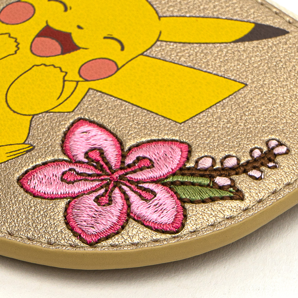 Loungefly X Pokemon Pikachu and Eevee Floral Friendship Cardholder-zoom