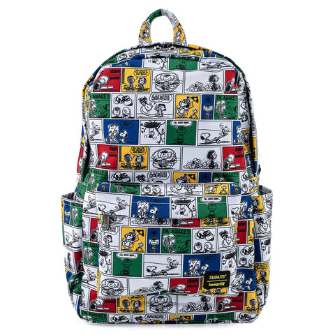 Peanuts Comic Strip AOP Nylon Backpack