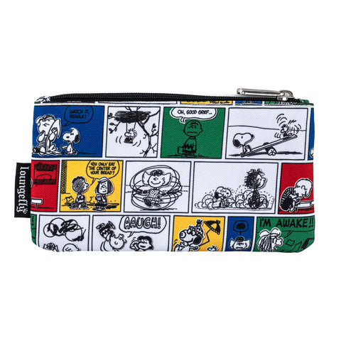 Peanuts Comic Strip AOP Nylon Pouch