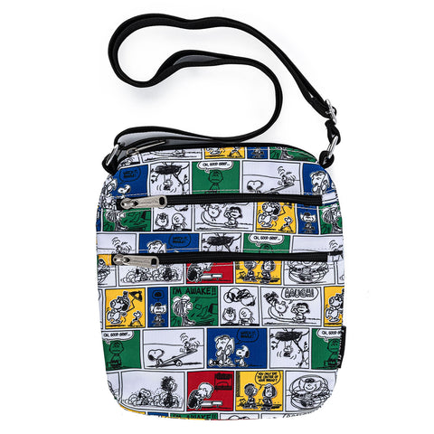 Peanuts Comic Strip AOP Nylon Passport Bag