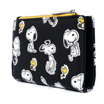 Loungefly X Peanuts Character Print AOP Flap Wallet