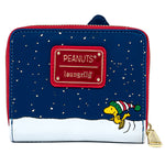 Peanuts Holiday Snoopy House Zip Around Wallet