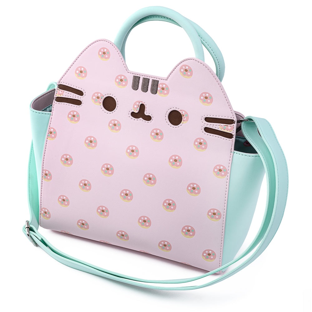 Pusheen Donuts AOP Cosplay Crossbody Bag-zoom