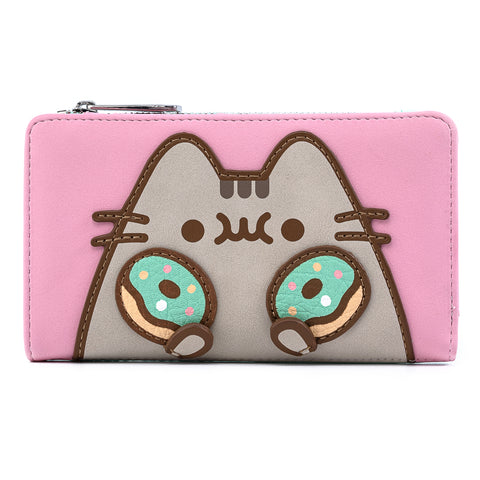 Pusheen Double Donuts Flap Wallet