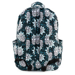 Loungefly X Rick and Morty Nylon AOP Backpack
