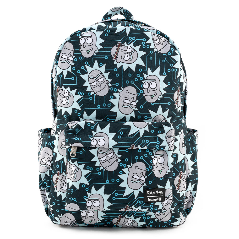 Loungefly X Rick and Morty Nylon AOP Backpack-zoom