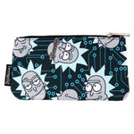 Rick And Morty Computer Chip AOP Nylon Pouch