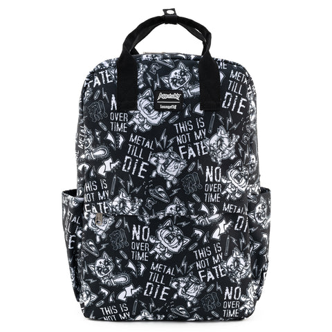 Aggretsuko Metal AOP Nylon Backpack