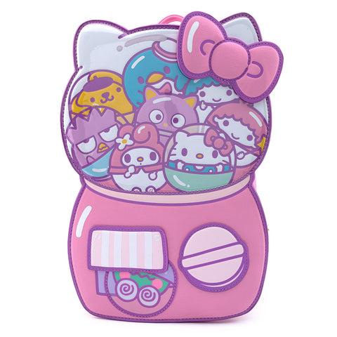 Loungefly X Hello Sanrio Kawaii Surprises Gumball Machine Backpack