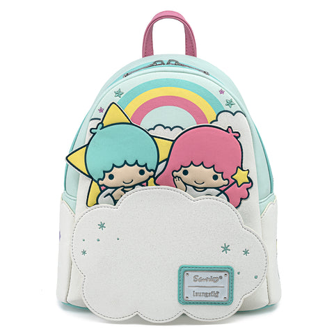 Sanrio Little Twin Stars Rainbow Cloud Mini Backpack
