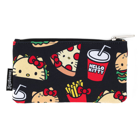 Loungefly X Hello Kitty Snacks AOP Nylon Pouch