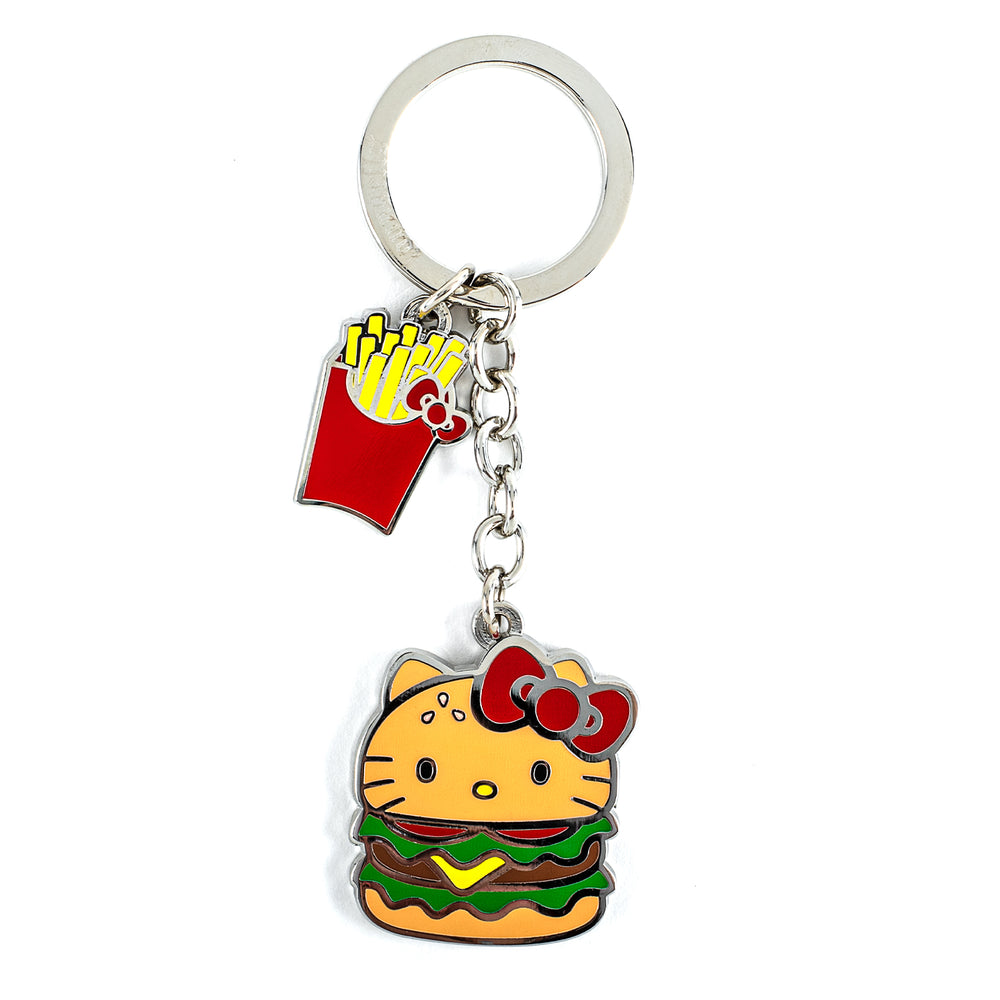 Loungefly X Sanrio Hello Kitty Enamel Keychain-zoom