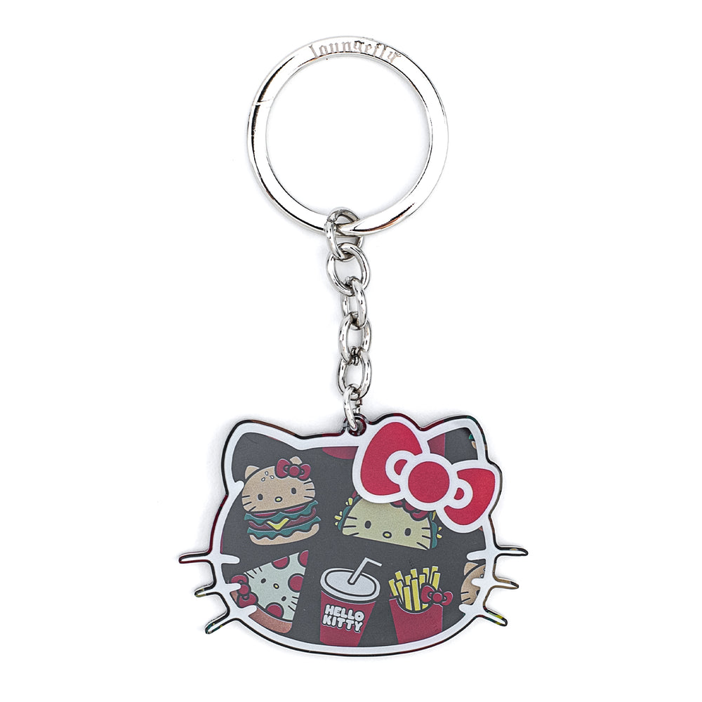 Loungefly X Sanrio Hello Kitty Snacks Acrylic Keychain-zoom
