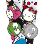 Loungefly X Sanrio Group AOP Lanyard with 4 pins