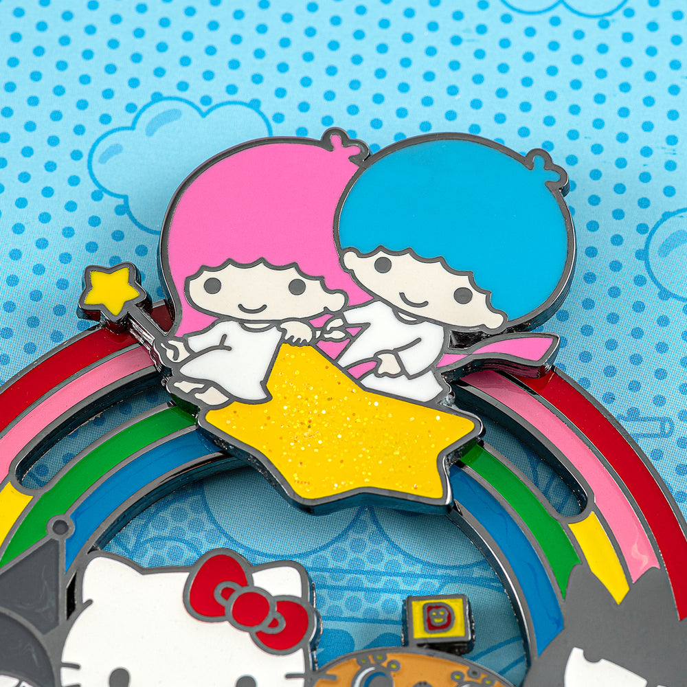 "Loungefly X Hello Sanrio 3"" Collector Enamel Pin with Box-zoom"