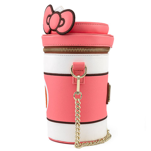 Hello Kitty Pumpkin Spice Cup Crossbody Bag