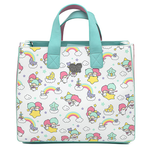 Sanrio Little Twin Stars Rainbow Cloud Crossbody Bag