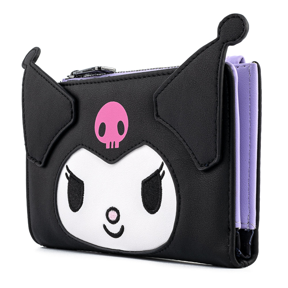 Hello Kitty Kuromi Cosplay Flap Wallet-zoom
