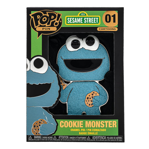 Sesame Street Cookie Monster Funko Pop! Pin