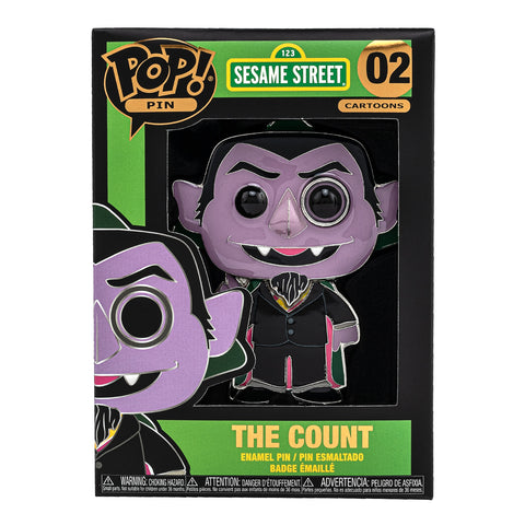 Sesame Street The Count Funko Pop! Pin