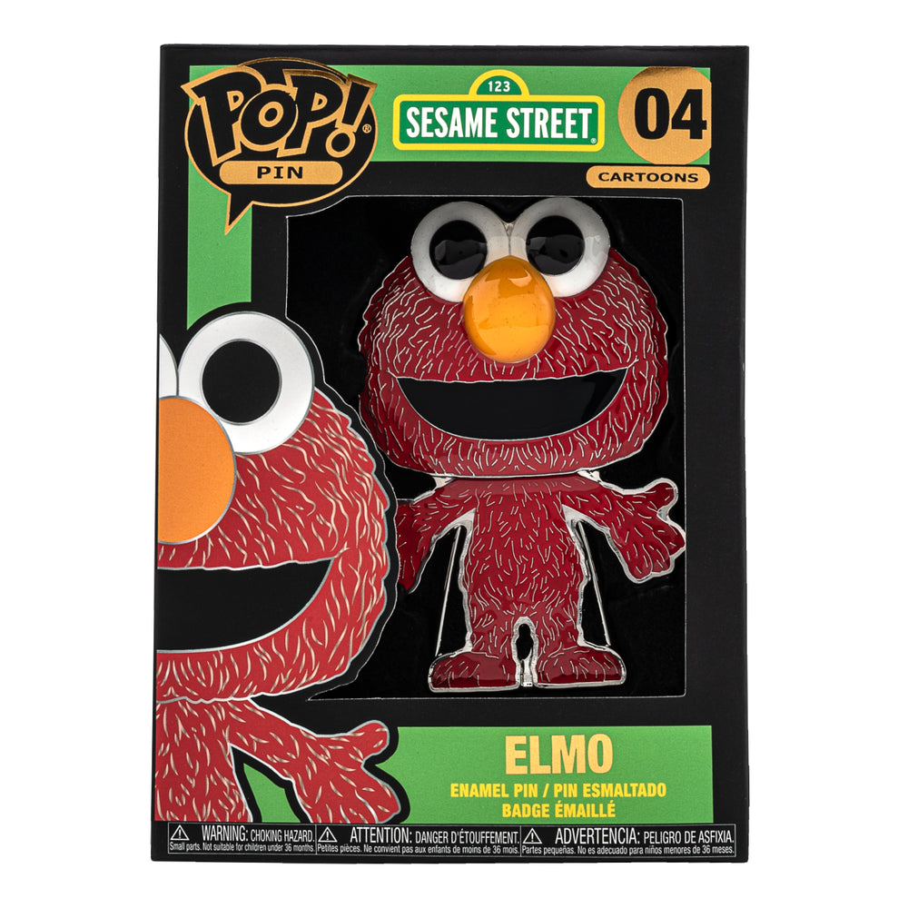 Sesame Street Elmo Funko Pop! Pin-zoom