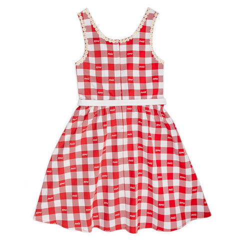 "Stitch Shoppe X Coca-Cola Gingham Belt ""Olivia"" Dress"