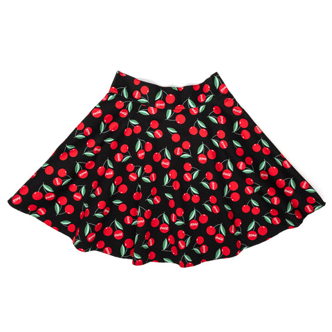 "Stitch Shoppe X Coca-Cola Cherries AOP ""Monique"" Skirt"