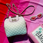 Stitch Shoppe X Barbie™ Kisslock Quilted Ombre Cross Body Bag