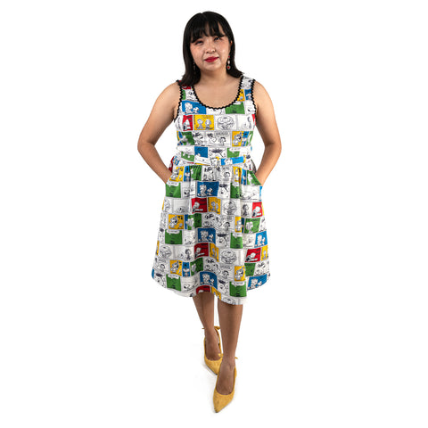 "Peanuts Stitch Shoppe Comic Panel ""Olivia"" Dress"