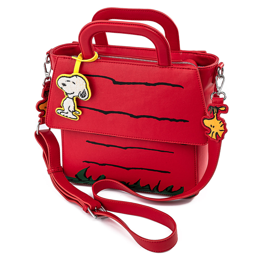 Peanuts Stitch Shoppe Snoopy Dog House Crossbody Bag-zoom