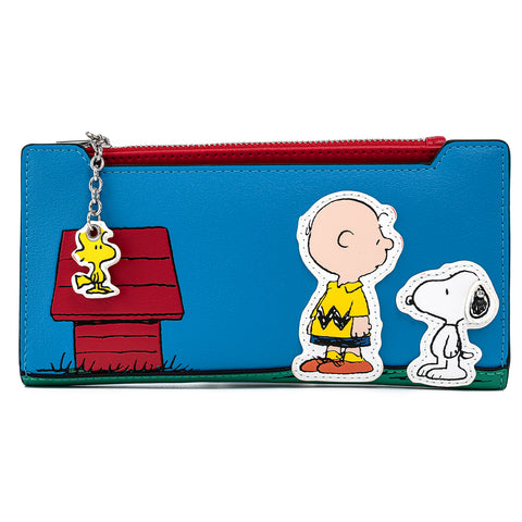 Peanuts Stitch Shoppe Snoopy & Charlie Brown Wallet