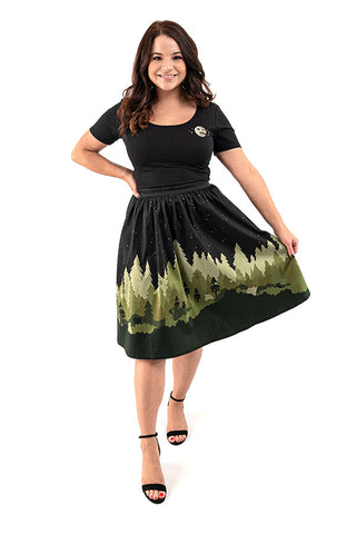 Star Wars Stitch Shoppe By Loungefly Ewok Village Sandy Skirt