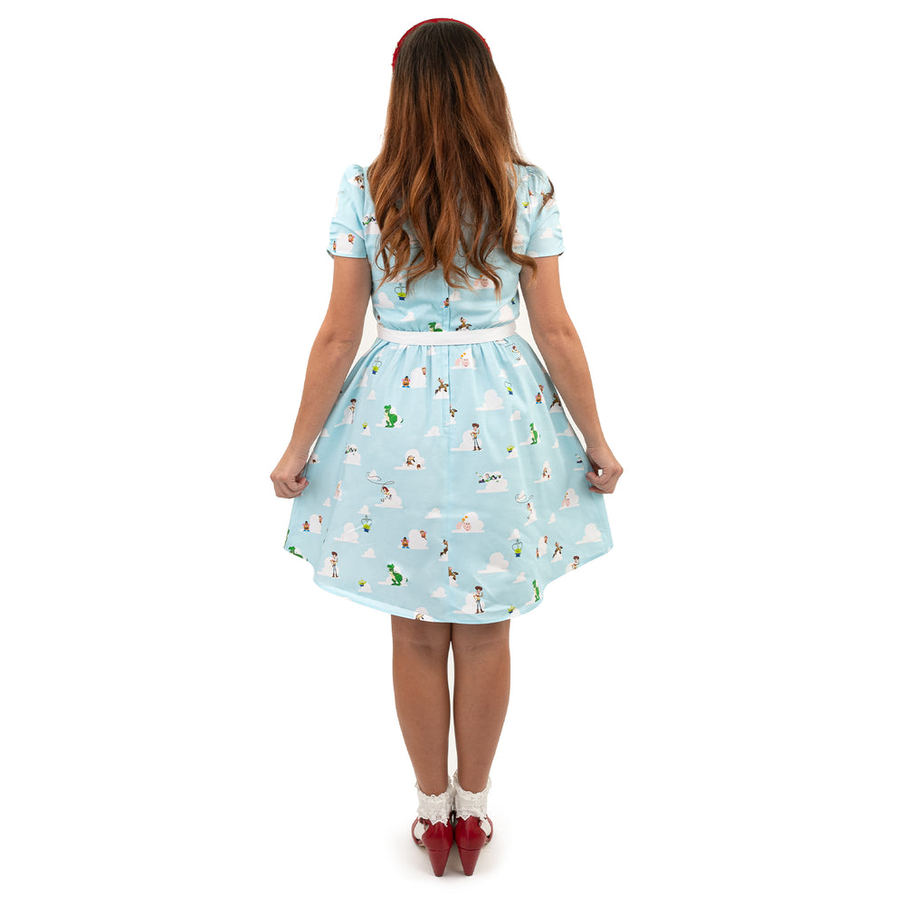 "Pixar Toy Story Friends ""Gemma"" Collared Dress-zoom"