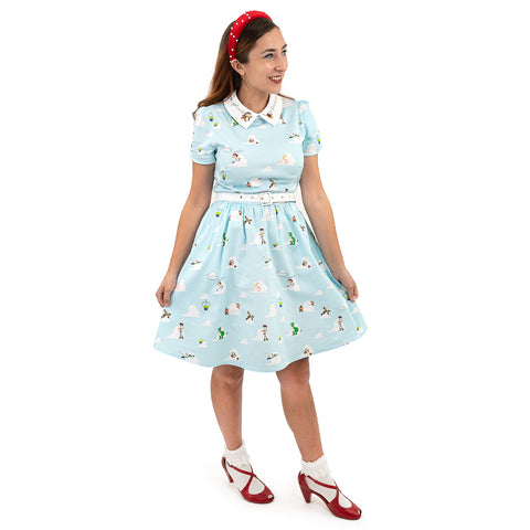 "Pixar Stitch Shoppe Toy Story Friends ""Gemma"" Collared Dress"