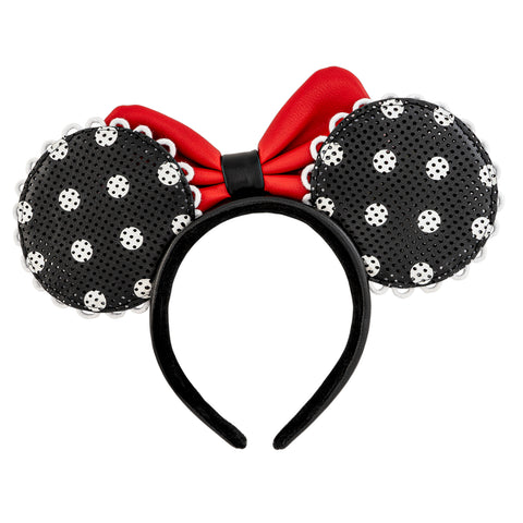 Disney. X Loungefly! Minnie Mouse Polka Dot Pin Trader Ears