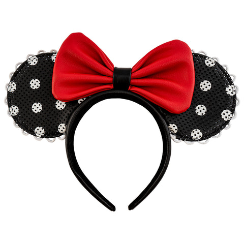 Disney Minnie Mouse Polka Dot Pin Trader Ears Headband