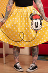 "Disney Stitch Shoppe Minnie Mouse Balloon Dot ""Sandy"" Skirt"