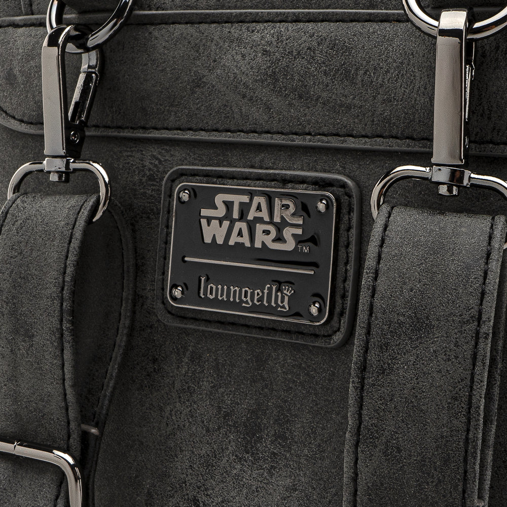 Loungefly X Star Wars Imperial Convertible Mini Backpack-zoom