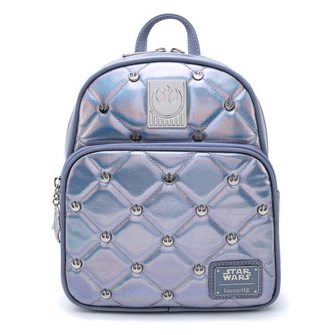 Loungefly X Star Wars Empire Strikes Back 40th Anniversary Hoth Iredescent Mini Backpack