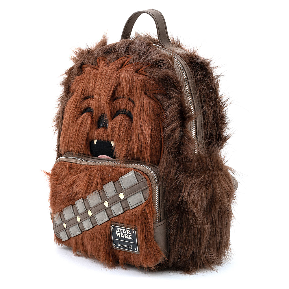 Loungefly X Star Wars Chewbacca Cosplay Mini Backpack-zoom