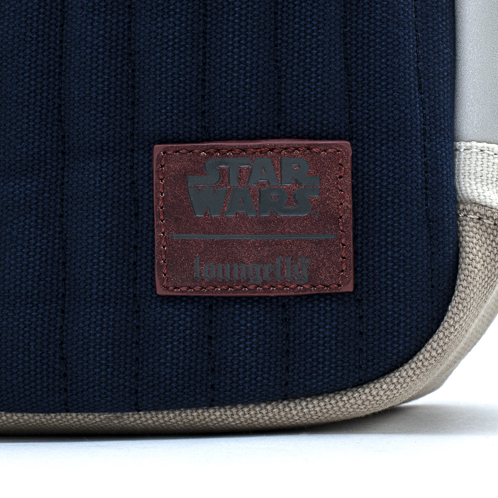 LF X Star Wars Empire Strikes Back 40th Anniversary Han Solo Hoth Canvas Backpack-zoom