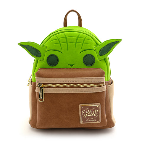 Pop! by Loungefly X Star Wars Yoda Cosplay Mini Backpack