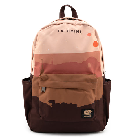 Loungefly X Star Wars Tatooine Nylon Backpack